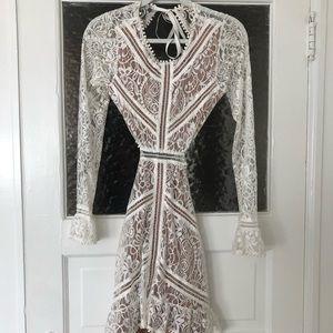 For Love and Lemons Emelie Cutout Dress (Medium)